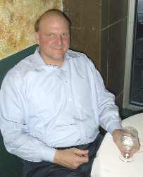 Steve Ballmer: Photo of Steve Ballmer, CEO of Microsoft